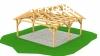 Poptávka: Projekt dřeveného zastřešeného staní pro 2 auta, cca 6x7m