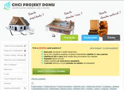 Chci projekt domu.cz - projekty a stavební poptávky