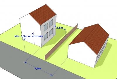 projekt jednoduché domu